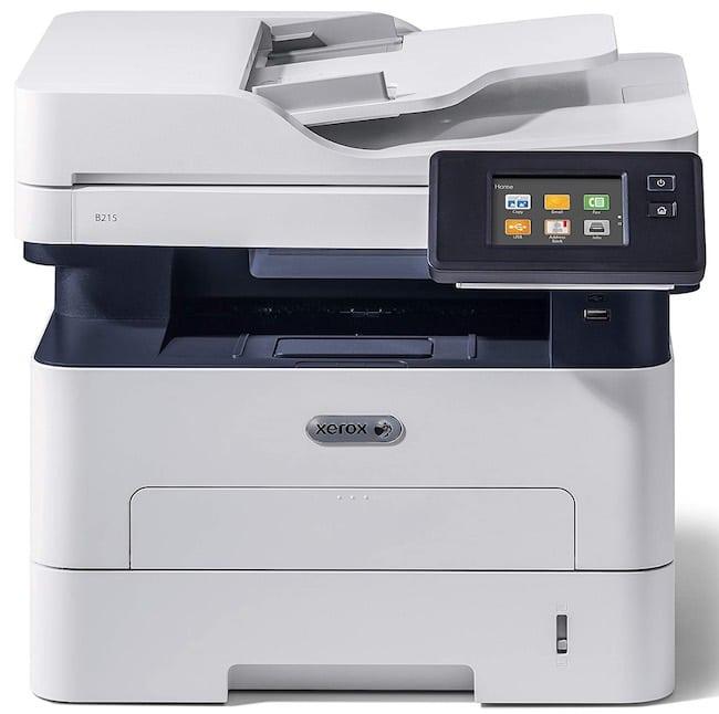 test de l'imprimante Xerox B215