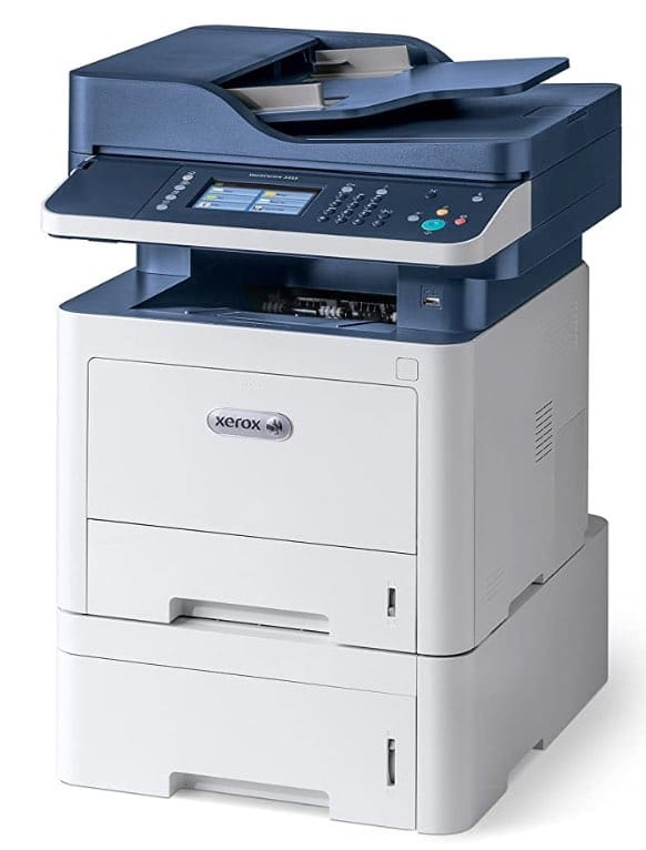test de l'imprimante Xerox WC3335