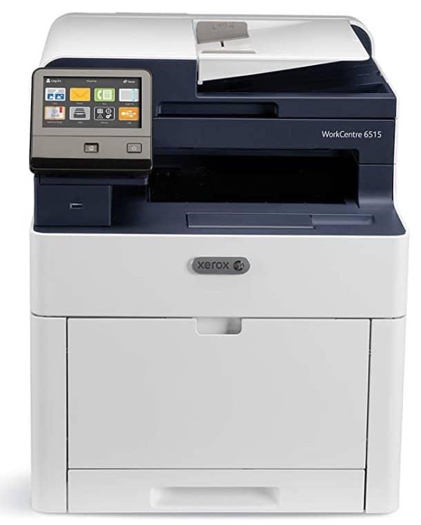 test de l'imprimante Xerox workcentre 6515