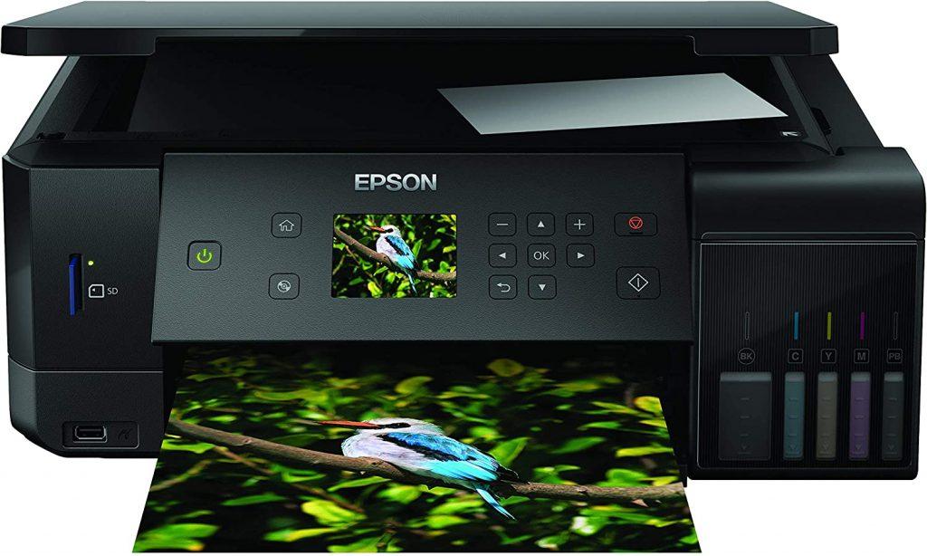 imprimer des photos avec EPSON ECOTANK ET-7750