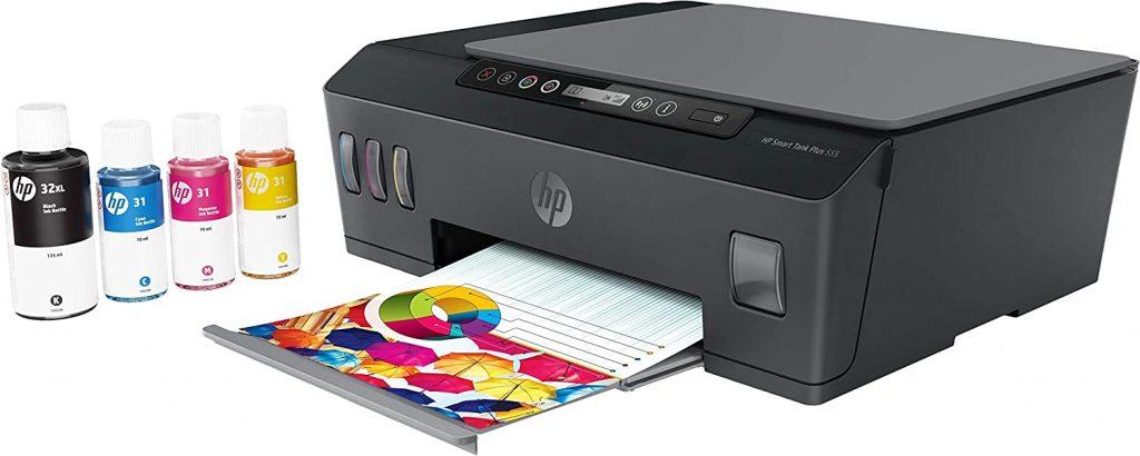 imprimante sans cartouche HP Smart Tank Plus 555