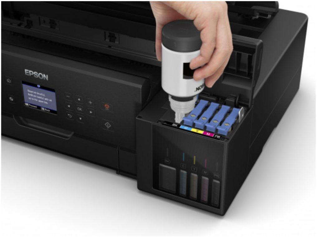 tutoriel imprimante sans cartouche pour remplacer les bouteilles