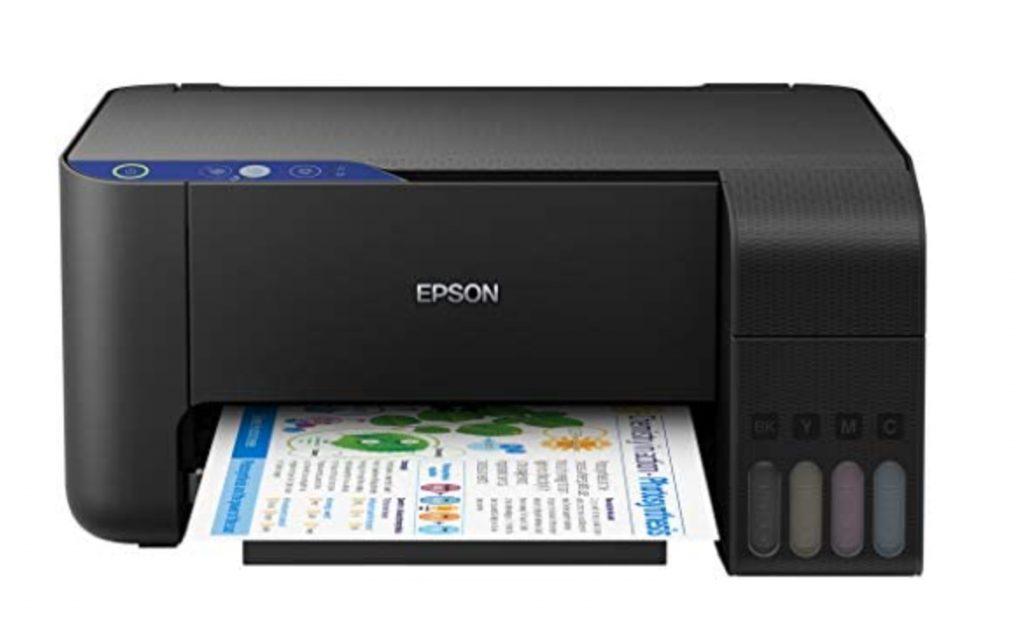 modèle entrée de gamme : Epson Eco tank L3111